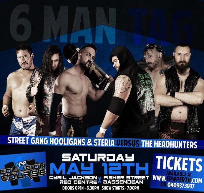 Collision Course 2018 - Six Man Tag Match