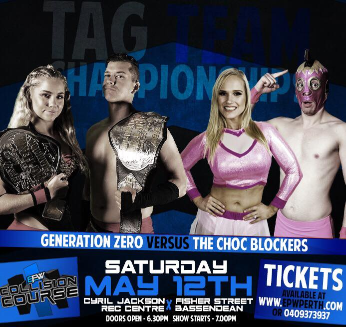 Collision Course 2018 - Tag Title Match