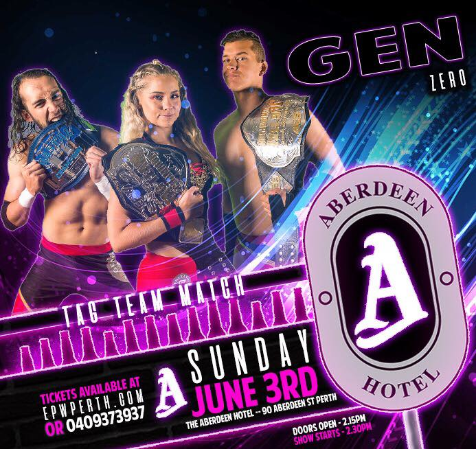 EPW @ The Aberdeen Hotel June - Gen Zero