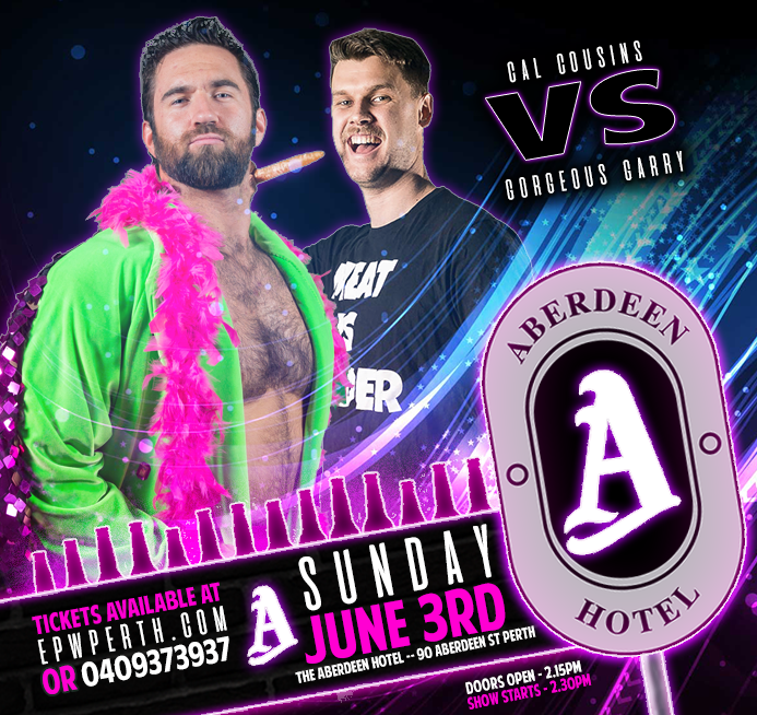 EPW @ The Aberdeen Hotel June - Cousins vs Garry