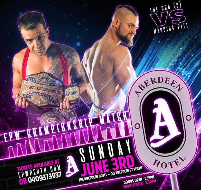 EPW @ The Aberdeen Hotel June - Don vs Pitt