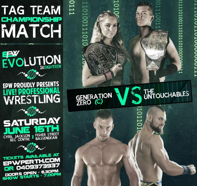 Evolution 2018 - Tag Title Match