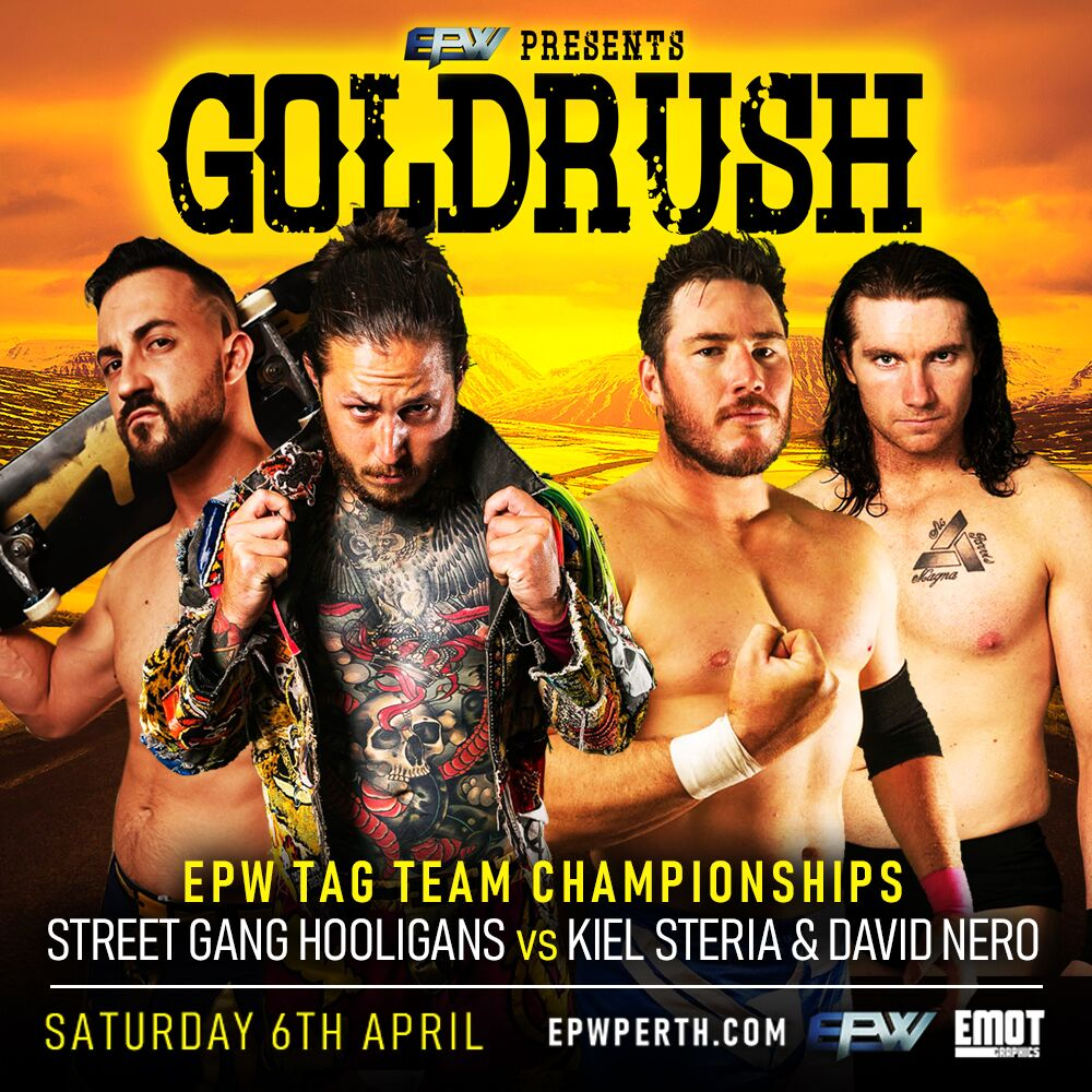 Tag Team Title Goldrush 2019 - Explosive Pro Wrestling