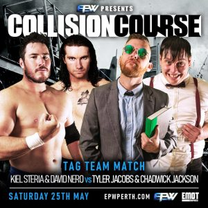 Tag team action at EPW's Collision Course 2019