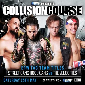 Can Alex Kingston and Logan Grey outlast the athletic Velocities at EPW Collision Course 2019?