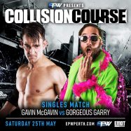 EPW Perth Pro Wrestling Gavin McGavin vs Gorgeous Garry
