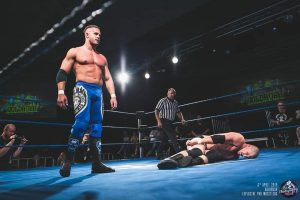 Bobby Marshall could not overcome Mikey Nicholls at EPW Goldrush 2019